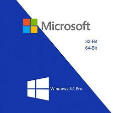 MS Win 8.1 Pro Microsoft Windows 8.1 Professional Key 32/64 Bit Email Download