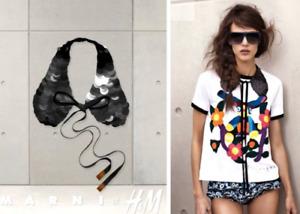 Marni + H&M Black Sequin Collar