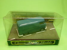 CORGI TOYS D985 VW VOLKSWAGEN T1 VAN - BLUE 1:43 - VG IN BOX