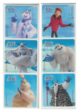 """25 Smallfoot Stickers, 2.5""""x2.5"""" each, Party Favors"""