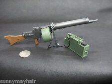 "1/6th German MG0815 Machine Gun Model 12"" Action Figures Accessories"