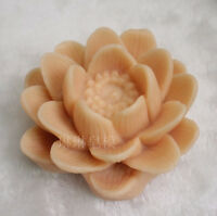 Craft Soap Molds Silicone Lotus Candle Soap Making Mould DIY Handmade Mold