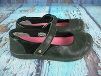 Keen Black Leather Mary Jane Comfort Shoes Women's Girl's Size: 5 / 37