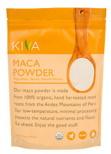 *NEW!* KIVA -Organic Maca Powder - Non-GMO, Raw, Vegan, 16oz.