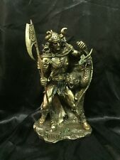 Bronze Cold Cast Coated Statue Of Norse God Loki 36Cm Tall