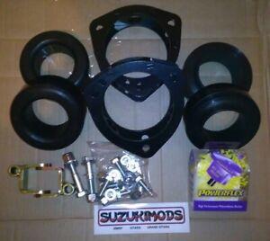 "suzuki grand vitara 98 to 2005 2"" suspension lift kit with camber bolts"