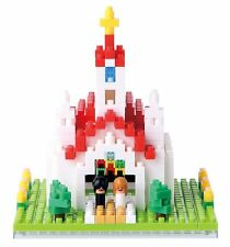 Church Nanoblock micro-sized building block construction toy Kawada NBH_087
