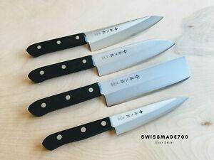 Japanese Knife Set by TOJIRO (Gyuto/Santoku/Nakiri/Petty - F310-F311-F312-F313)