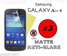 3x HQ MATTE ANTI GLARE SCREEN PROTECTOR COVER GUARD SAMSUNG GALAXY ACE 4