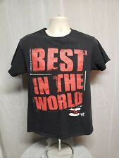 2013 WWE CM Punk Best in the World Adult Medium Black TShirt