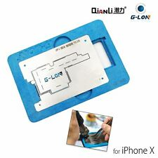 QIANLI iPhone X Middle Layer Logic Board BGA Stencil Reballing Platform Fixture