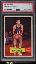 1957 Topps Basketball Maurice Stokes ROOKIE RC #42 PSA 5 EX