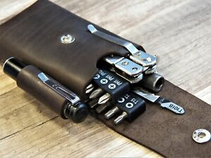 Leatherman sheath EDC organizer edc pouch Leatherman surge sheath belt organizer