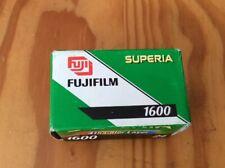 Expired Fujifilm Superia 1600. Color Film
