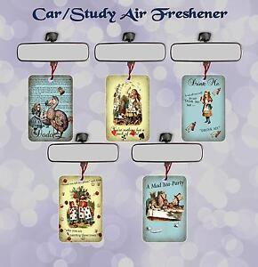 ALICE IN WONDERLAND CAR/OFFICE/STUDY AIR FRESHENER