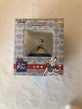 Japan Disney Christmas Ornament Happy Kuji Snow White Snow Globe