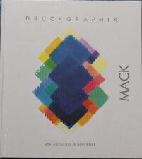 Heinz Mack Druckgrafik 2001 - 2011, neu, original verpackt Nachschlagewerk rar