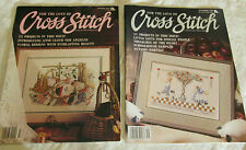 For the Love of Cross Stitch Magazines: Premier Issue and September 1989