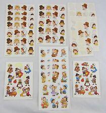 Vintage Hallmark Thanksgiving Stickers Lot of 12+ Sheets: Pilgrim, Indian