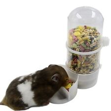 Pet Bird Drinker Feeder Automatic Food Waterer Clip Aviary Cage Parrot Budgie