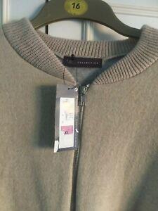 BNWT - MARKS & SPENCER - beige fleece zipped jacket - Size XL approx 16/18