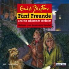 DCD Kinder Hörspiel Enid Blyton Fünf Freunde und ein schlimmer Verdacht 2008