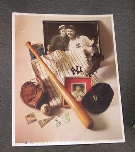 *MLB Major League Baseball No. 6 The Iron Horse Lou Gehrig 1st Edition Sealed