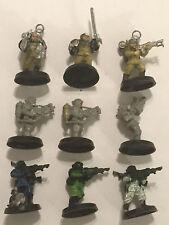 9 Plastic Human Space Marines Citadel Miniatures Games Workshop Warhammer 40K