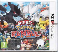 POKEMON SUPER POKEMON RUMBLE NINTENDO 3DS NUOVO ITALIANO