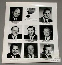 Original Late-60's Head Office St-Louis Blues Photo