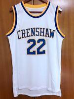 Quincy McCall #22 Crenshaw High School Basketball Jersey Movie Love S-3XL