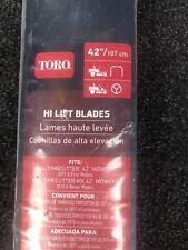 "Toro 42"" Replacement Blade Kit Lot of 2 Blades 131-3939-03P Timecutter"
