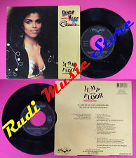 LP 45 7'' BLACK KISS CHERITA Jump on the floor 1990 france ON BEAT no cd mc dvd