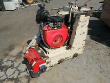 Edco Concrete Scarifier Cpu10 Self Propelled 20 Hp Honda