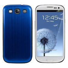 kwmobile Back Cover Case für Samsung Galaxy S3 S3 Neo Hülle Blau Aluminium Akku