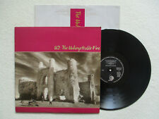 """LP 33T U2 """"The unforgettable fire"""" ISLAND 822 898-1 FRANCE §"""