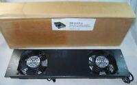 Studio Tech Middle Atlantic Twin Fan Cooling Rack Panel 3U  RM-QTFP-2  NEW