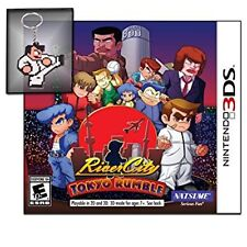 River City Tokyo Rumble 3DS plus Bonus Keychain by Natsume