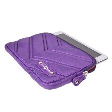 Life N Soul Nylon Padded Carrying Case for iPad mini 2-4 & Tablet 7 inch Purple