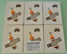 6 Decks ~ Jim Bean playing cards ~ Special Edition ~ New & Sealed