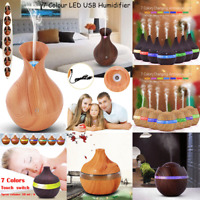 Air Aroma Essential Oil Diffuser LED Ultrasonic Aroma Aromatherapy Humidifier HT