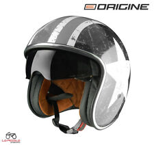 Origine Helmets - sprint Rebel Star casco abierta Blanco/gris XS