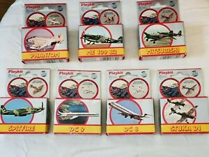 1:200 Scale Model Planes Vintage 1980s by Playkit from Italy variety of models