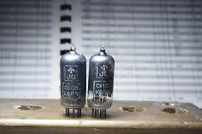 Pair Brimar Cv138 Cv4014 Ef91 Square Getter Tested