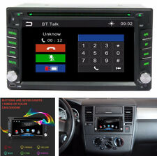 "6.2"" GPS Navigation 2Din HD Car Stereo DVD CD Player FM USB Bluetooth Auto Radio"