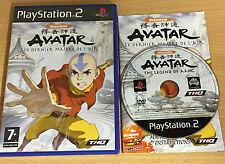 PS2 : AVATAR le dernier maitre de l'air