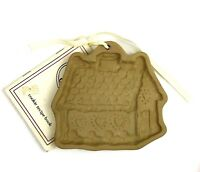 Brown Bag Cookie Art Gingerbread House Cottage Mold Christmas Ornament 1993