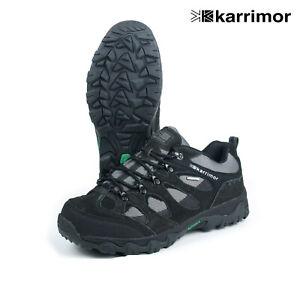 Karrimor Jura Low Men's Weathertite Waterproof Hiking Walking Shoes Black