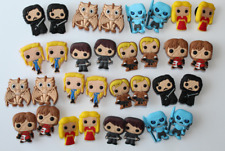 Game of Thrones Shoe Charms Jibbitz 32 pc GOT HBO Cartoon style charm USA Seller