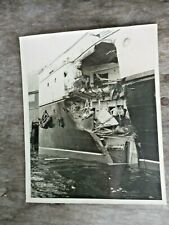 Ss Princess Kathleen 1951 Collision Wreck Photo Canadian Pacific Steamships